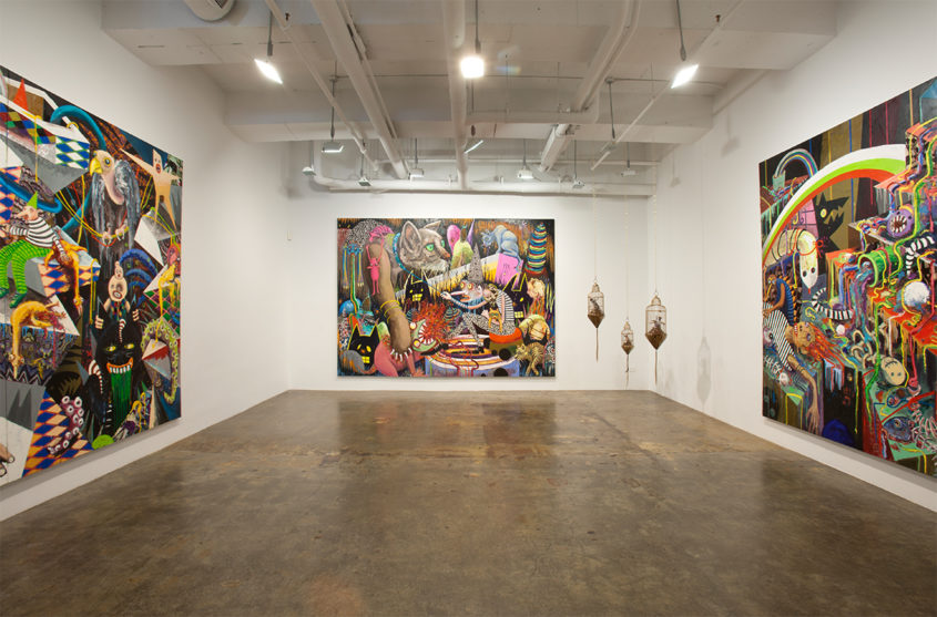 Mike Weiss Gallery, NY, 2011