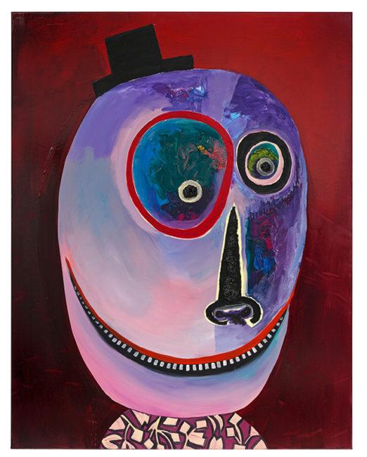 Fatze Atze. 150x120cm, oil on canvas, 2014