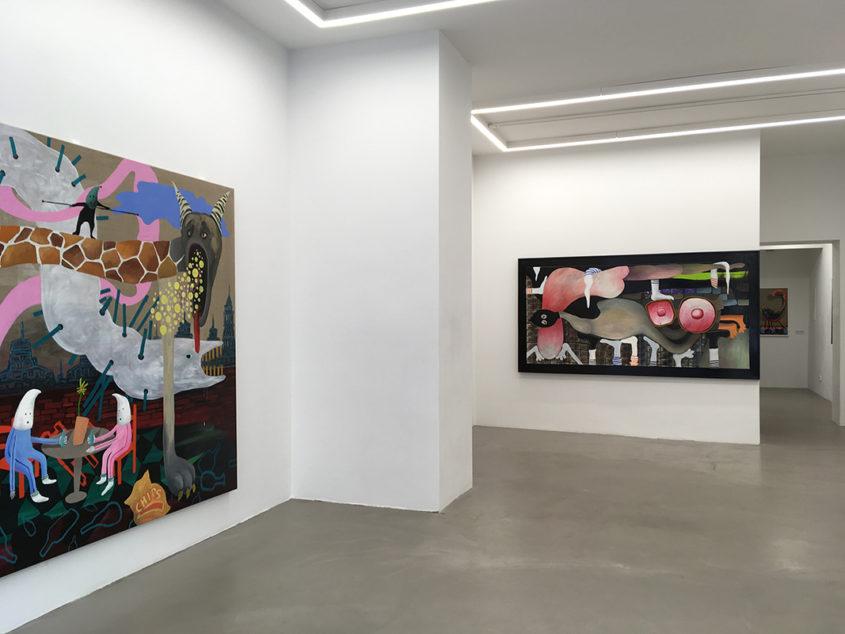 Galerie Russi Klenner, Berlin, 2016