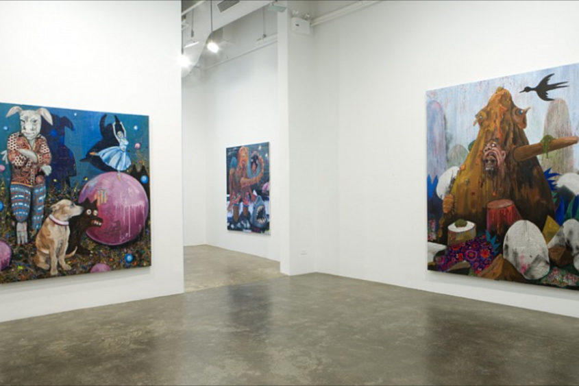 Mike Weiss Gallery, NY, 2010
