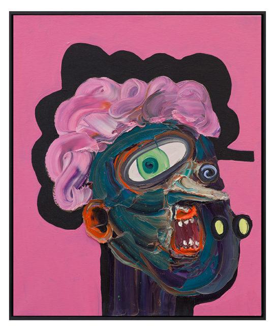 Cathy,  oil on canvas, 60x50cm 2014