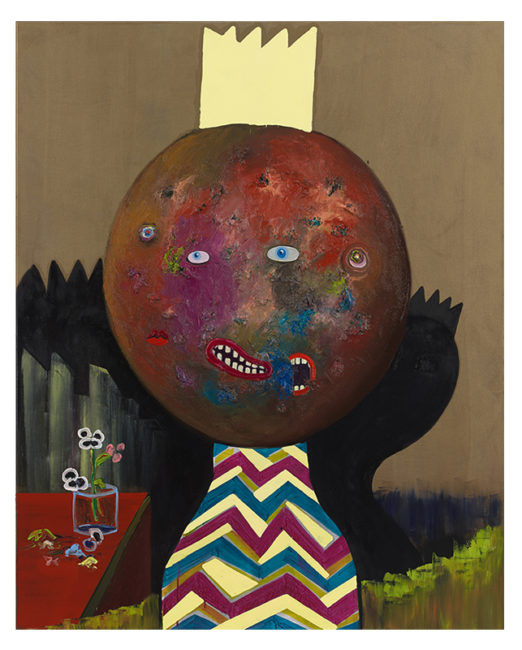 Potato King, oil on canvas, 150x120cm, 2014