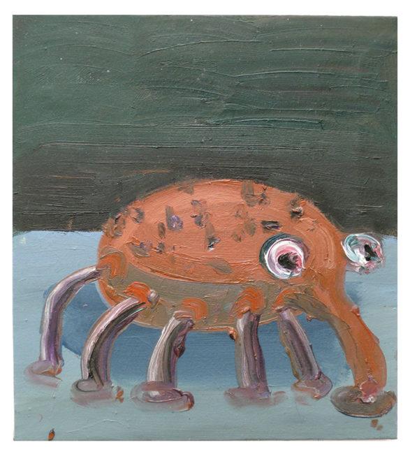Wanze I, oil on canvas, 45x41cm, 2008